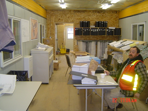 Inside Document Control Area