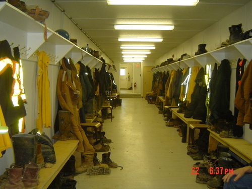 Boot Room Entrance