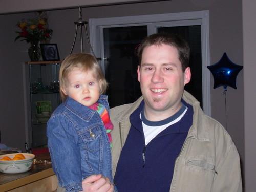 Brad and Baby Makena
