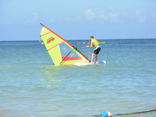 WindSurfing Attempt